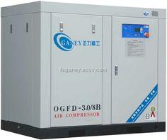 Singel Screw Air Compressor / Screw Compressor (SOGFD-3.4/8) - China single screw air compressor, Ganey