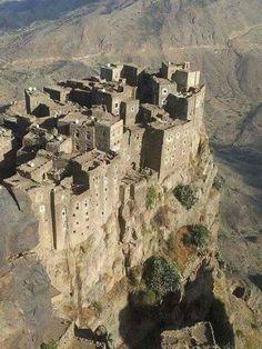 yemen  Hmokh borghi storici