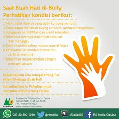 Kenali kondisi bully #layanan #sehat #dokter #rumahsakit #rsmeilia #cibubur #depok #cileungsi #bekasi #bogor #jakarta #tangerang #indonesia