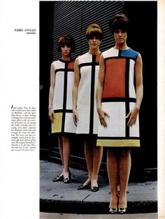 Styles from the 1960s...