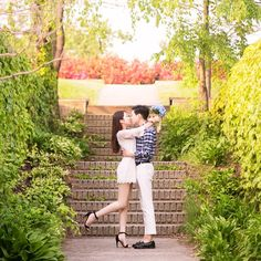 Spring time #prewedding shoot at Sunyudo Park by MAPIC #Korea  Book your wedding photoshoot at http://ift.tt/1LufJ3X