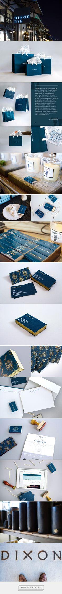 Dixon Rye Branding by Russell Shaw on Behance | Fivestar Branding – Design and Branding Agency & Inspiration Gallery