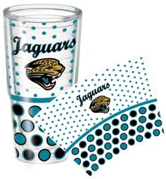 Show some Jacksonville love with this Jacksonville Jaguars Tervis Tumbler