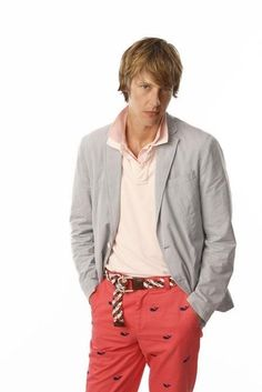 Gabriel Mann. Another reason why I love his character, Nolan Ross. His absolutely endearingly queer wardrobe.