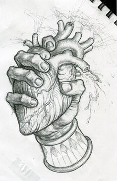 the drawing (matt buck)You can find Heart drawing and more on our website.the drawing (matt buck) Creepy Drawings, Dark Art Drawings, Pencil Art Drawings, Art Drawings Sketches, Easy Drawings, Detailed Drawings, 3d Art Drawing, Painting & Drawing, Surrealism Drawing