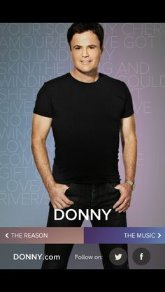 Just downloaded the Donny Osmond app!!! So excited!!!!! :)