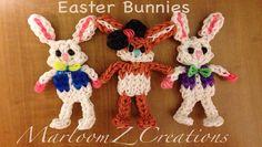 Rainbow Loom: Easter Bunny ( MarloomZ Creations )