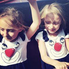 #clown #fashion #minirodini #akerlundtwins !!!