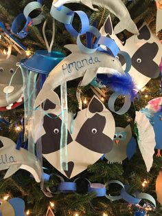 Paper raccoon ornament, Zoological Society of Milwaukee Fantastic Forest 2015