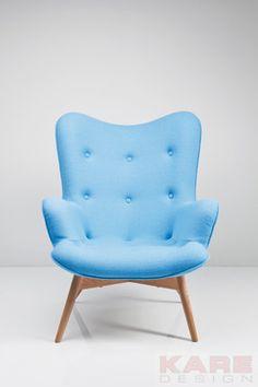 Sessel Angels Wings Blue New Design  #blau #kare #design #blue #modern #moebel #wien #austria #kareaustria