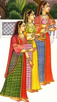 Radha and Krishna Playing the Game of Chaupara, Hindu Water Color Painting on PaperArtist:Kailash Raj Rajasthani Miniature Paintings, Rajasthani Painting, Rajasthani Art, Pichwai Paintings, Mughal Paintings, Indian Art Paintings, Indian Traditional Paintings, Traditional Art, Durga Painting