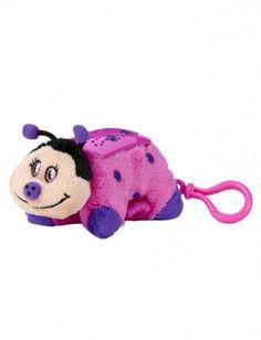 Kids' Pillows - Pillow Pets Dream Lites Mini  Hot Pink Ladybug ** Click image to review more details.