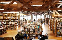 Elliot Bay Book Company- Seattle, Washington. Pick any day, and Elliot Bay Book Company is going to have an author reading of fiction, nonfiction, or even Spanish poetry. The family-owned bookstore offers hand-written book review cards, in-depth features, and tips to find the best books. Grab a sweet treat at the downstairs café and spend a couple hours browsing five rooms of locally authored fiction, limited editions, and handbounds. Bonus: They would be more than happy to special order…