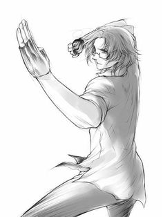 Whoops, Matthew's about to kick your ass! He knows (some form of) martial arts! - Hetalia