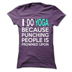 Check out all yoga shirts by clicking the image, have fun :)
