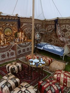 Viking Tent, Victorian Party, Vikings Live, Horse Drawn Wagon, Campaign Furniture, Medieval Houses, Gothic House, Dali, Tents