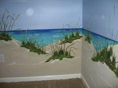 Example of seaside mural