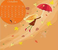 Calendrier du mois d'octobre 2013