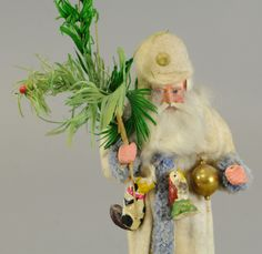Lot # : 1299 - RARE PRUSSIAN SANTA CANDY CONTAINER