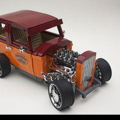 1932 Ford Tudor hot rod | The Brothers Brick | LEGO Blog