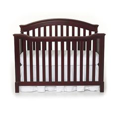 """Summer Infant Freemont Easy Reach 4 in 1 Convertible Crib-Black Cherry - Summer Infant - Babies """"R"""" Us"""