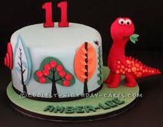 Image result for dinosaur cake