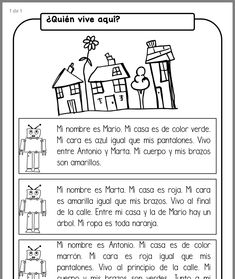 May Spanish Literacy Fun: No Prep Spanish Teacher, Teaching Spanish, Spanish Lessons For Kids, Learn Spanish, Spanish Classroom Activities, Learning Sight Words, Reading Assessment, Learning Quotes, Student Reading