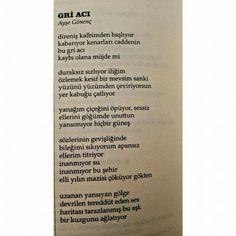 Ayşe Gönenç -Gri Acı- Hayal Bilgisi Edebiyat Dergisi 21. Sayı