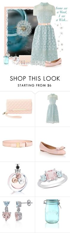 """""""I See A Wish..."""" by love-n-laughter ❤ liked on Polyvore featuring Charlotte Russe, Warehouse, Salvatore Ferragamo, Valentino, Ice, Belk & Co. and Kilner"""
