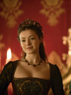 Sarah Bolger as Mary Tudor in The Tudors (TV Series, 2010).