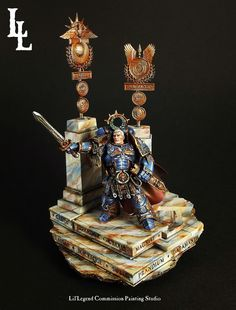 """""""Space marines excel at warfare because they were designed to excel at everything. each of you will become a leader, a ruler, the master of your world and when there is no more fighting to be done, you will bend your talents to order, governance and culture so that the Imperium will stand eternal.""""  Attributed to Robute Guilliman"""