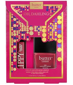 Oh, Dahling! 2-Piece LIPPY Liquid Lipstick and Nail Lacquer Set