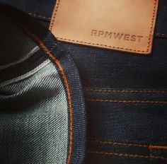 Perfect Jeans Delivered. Get our raw Japanese selvedge jeans at www.rpmwest.com
