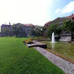 Haydnplatz, südl. Hildapromenade, Karlsruhe, Germany