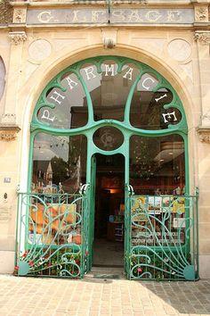Farmacia Art Nouveau (Pharmacie Lesage)  Colección de www.farmacidisalud Vía: Parksy