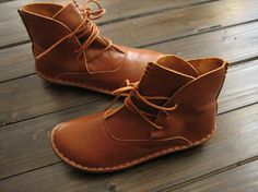 Handmade ShoesAnkle BootsOxford Women Shoes Flat Shoes door HerHis