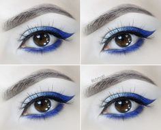 Sapphire Makeup Tutorial | September Birthstone  Hi everyone! Let's greet September and autumn with a step by step makeup tutorial inspired by one of the most precious and unbelievably beautiful gemstones Sapphire. In the Middle Ages people believed that Sapphire represents loyalty and trust and it can protect the people you love. The rich blue Sapphire color looks especially beautiful on dark blue gray and green eyes. Follow these easy steps to recreate this makeup look yourself.  Step 1…