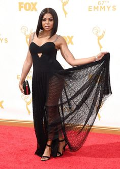 Taraji P. Henson Live from the 2015 Primetime Emmy Awards