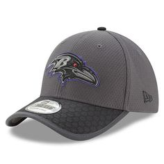 Baltimore Ravens New Era 2017 Sideline 39THIRTY Flex Hat - Graphite