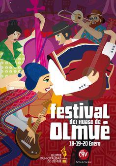 Festival del Huaso de Olmue - 18 al 20 de  enero - Anfiteatro Parque El Patagual