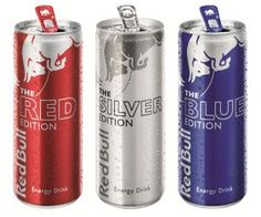 Red Bull flavours