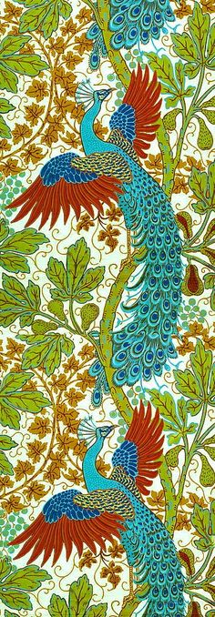 walter crane- peacocks-xx tracy porter. poetic wanderlust