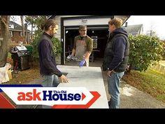 How to Build Custom Concrete Countertops - YouTube