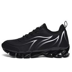 Men Blade Sneakers Lightweight Cushioning Professional Lace Up Sport S – Agodeal Blade Shoes, Air Max Sneakers, Men Sneakers, Chunky Sneakers, Men S Shoes, Types Of Shoes, Sneakers Fashion, Casual Shoes, Nike Air Max