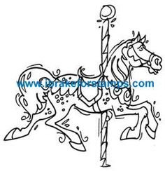 Carousel Horse (digital image)