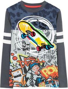 8ae77810 Desigual Boy Fermin Cotton T-Shirt Boys T Shirts, Skate Clothing, Textiles,
