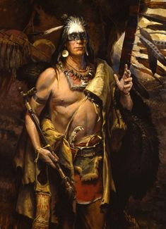 William Ahrendt - Wooden Leg - Cheyenne Chief and Warrior of the Little Big Horn