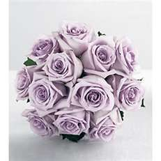 Sterling silver rose bouquet.