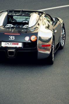 ? Billionaires' boys club Masculine & elegance black & silver car