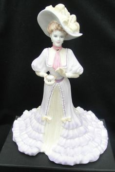 Coalport Bone China High Society Figurine LADY ELIZABETH 1st Quality Limited Ed.